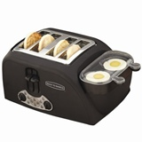 Back to Basics 4 slot egg and muffin toaster