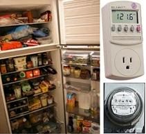 green energy efficient homes how much electricity refrigerators use. Black Bedroom Furniture Sets. Home Design Ideas