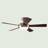 Hunter 52-Inch ENERGY STAR Ceiling Fan, Maple/Cherry Blades